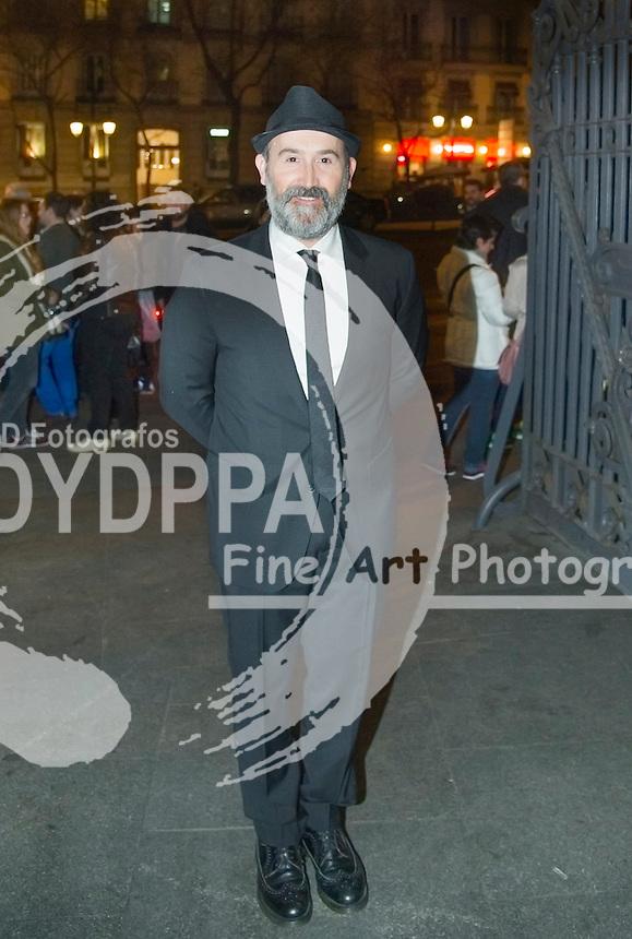 Spanish actor Javier Camara