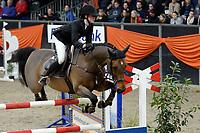 ZUIDBROEK - Paardensport, ICCH Zuidbroek, springen internationaal Grote Prijs , 05-01-2019, Kim Emmen met Eclips