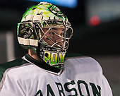 Matt Pompa (Babson - 30) - The UMass Boston Beacons defeated the Babson College Beavers 5-1 on Thursday, January 12, 2017, at Fenway Park in Boston, Massachusetts.