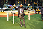 Happy Valley, Hong Kong - December 4: Gary Moore Pictured after Flying Genius and Ryan Moore win the Longines International Jockey' Championship Handicap First leg at Happy Valley Racecourse in Hong Kong. Michael McInally/Eclipse Sportswire/CSM