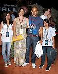 Actor Faran Tahir and family arrive at the Disney-Pixar's WALL-E Premiere on June 21, 2008 at Greek Theatre in Los Angeles, California.