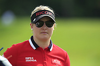 Charley Hull (ENG) in action on the 16th during Round 1 of the HSBC Womens Champions 2018 at Sentosa Golf Club on the Thursday 1st March 2018.<br /> Picture:  Thos Caffrey / www.golffile.ie<br /> <br /> All photo usage must carry mandatory copyright credit (&copy; Golffile | Thos Caffrey)