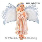 Dona Gelsinger, CHILDREN, paintings(USGEBX84311M,#K#) stickers Kinder, niños, illustrations, pinturas angels, ,everyday