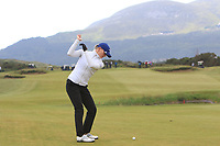 Daniella Barrett (FIN) on the 17th fairway during Matchplay Semi-Finals of the Women's Amateur Championship at Royal County Down Golf Club in Newcastle Co. Down on Saturday 15th June 2019.<br /> Picture:  Thos Caffrey / www.golffile.ie