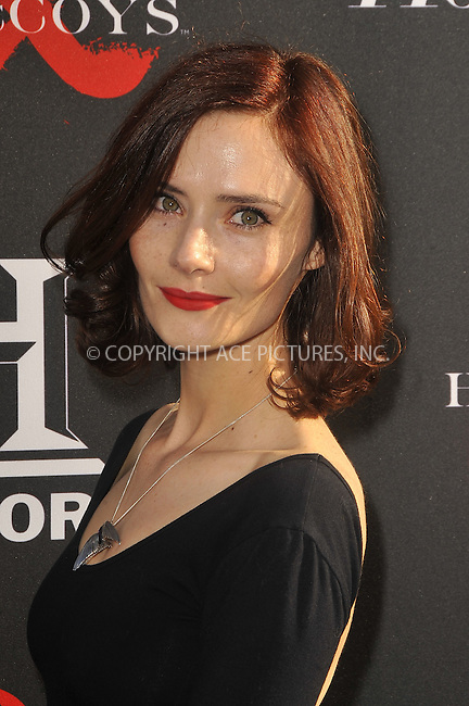 WWW.ACEPIXS.COM . . . . .  ....May 21 2012, LA....Rebecca Calder at a special screening of 'Hatfields & McCoys' hosted by The History Channel at Milk Studios on May 21, 2012 in Hollywood, California. ....Please byline: PETER WEST - ACE PICTURES.... *** ***..Ace Pictures, Inc:  ..Philip Vaughan (212) 243-8787 or (646) 769 0430..e-mail: info@acepixs.com..web: http://www.acepixs.com