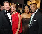 "From left: John and Frances Dyess and Diedra and Terrence Fontaine at the San Luis Salute to ""The Italian Riviera"" at the Galveston Island Convention Center at the San Luis Friday  Feb. 20, 2009.(Dave Rossman/For the Chronicle)"