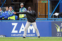 Sol Campbell during Macclesfield Town vs Leyton Orient, Sky Bet EFL League 2 Football at the Moss Rose Stadium on 10th August 2019