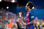 FC Barcelona's forward Neymar Santos Jr celebrating a goal during Copa del Rey (King's Cup) Final between Deportivo Alaves and FC Barcelona at Vicente Calderon Stadium in Madrid, May 27, 2017. Spain.<br /> (ALTERPHOTOS/BorjaB.Hojas)