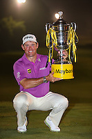 LEE WESTWOOD is the Champion Golfer of the 2014 Maybank Malaysian Open at the Kuala Lumpur Golf & Country Club, Kuala Lumpur, Malaysia. Picture:  David Lloyd / www.golffile.ie