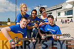 Launching the ITT music society charity concert in aid of Pieta House.This concert will take place in the Fels point hotel on Thursday 30th of April.Doors open at 8pm.Pictured front l-r Sean O'Sullivan(Chairperson of IT Tralee music society),Laura O'Lochlan,Mohammed Alghamdi,Kerie Herbert and Joe Monaghan