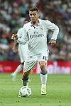 Real Madrid's Kovacic during the XXXVII Bernabeu trophy between Real Madrid and Stade de Reims at the Santiago Bernabeu Stadium. August 15, 2016. (ALTERPHOTOS/Rodrigo Jimenez)