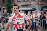 Tom Meeusen (BEL/Corendon-Circus)<br /> <br /> 3rd Dwars Door Het hageland 2018 (BEL)<br /> 1 day race:  Aarschot &gt; Diest: 198km
