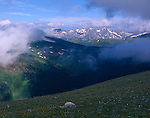 Forest Canyon, Trail Ridge, alpine tundra, Never Summer Range, Rocky Mountain National Park, Colorado