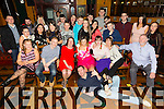 Daniel Cullen, Tralee, celebrating her 21st Birthday with family and friends at the Meadowlands Hotel on Saturday