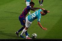 16th July 2020; Camp Nou, Barcelona, Catalonia, Spain; La Liga Football, Barcelona versus Osasuna; Adrian and Semedo