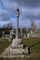 Europe/France/Bretagne/29/Finistère/Languidou: Ruines de la chapelle