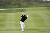 Sihwan Kim (USA) on the 1st fairway during Round 1 of the Open de Espana 2018 at Centro Nacional de Golf on Thursday 12th April 2018.<br /> Picture:  Thos Caffrey / www.golffile.ie<br /> <br /> All photo usage must carry mandatory copyright credit (&copy; Golffile | Thos Caffrey)