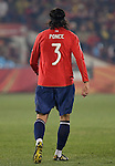 25.06.2010, Loftus Versfeld Stadium, Tshwane Pretoria, RSA, FIFA WM 2010, Chile (CHI) vs Spain (ESP)., im  Bild Waldo Ponce of Chile.  Foto: nph /    Marc Atkins