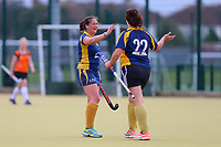 Romford score their first goal during Romford HC Ladies vs Maldon HC Ladies 2nd XI, Essex Women's League Field Hockey at the Robert Clack Leisure Centre on 7th October 2017