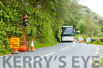 Road works on the Torc Waterfall car park to Dinis Cottage cap park road