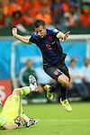 Robin Van Persie (NED), <br /> JUNE 13, 2014 - Football /Soccer : <br /> 2014 FIFA World Cup Brazil <br /> Group Match -Group B- <br /> between Spain 1-5 Netherlands <br /> at Arena Fonte Nova, Salvador, Brazil. <br /> (Photo by YUTAKA/AFLO SPORT) [1040]