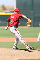 Patrick Corbin #14 of the Arizona Diamondbacks pitches in a minor league spring training intrasquad game  at the Diamondbacks minor league complex on April 1, 2011  in Scottsdale, Arizona. .Photo by:  Bill Mitchell/Four Seam Images.