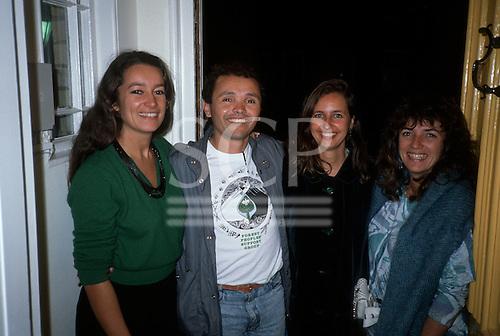Hampstead, England. Liz Hosken, Julio Barbosa, May East and Sue Cunningham.