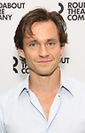 Hugh Dancy attends the photo call for the Roundabout Theatre Company Production of 'Apologia'  on September 5, 2018 at the Roundabout Rehearsal Studios in New York City.