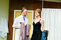 What The Butler Saw by Joe Orton, directed by Sean Foley . With Tim McInnerny as Dr Prentice, Samantha Bond as Mrs Prentice. Opens at The Vaudaville Theatre  on 16/5/12 .CREDIT Geraint Lewis
