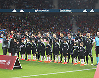 Argentina's team<br /> Spain vs Argentina selections team pre Russian Soccer World Cup football match at Wanda Metropolitano stadium in Madrid on March 27, 2018.