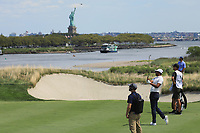 Tony Finau (USA) during the third round of the Northern Trust, played at Liberty National Golf Club, Jersey City, New Jersey, USA 10/08/2019<br /> Picture: Golffile | Michael Cohen<br /> <br /> All photo usage must carry mandatory copyright credit (© Golffile | Phil Inglis)