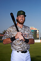 Inland Empire 66ers outfielder Brandon Marsh (20) poses for a photo before a California League game against the Lancaster JetHawks at San Manuel Stadium on May 19, 2018 in San Bernardino, California. Inland Empire defeated Lancaster 9-6. (Zachary Lucy/Four Seam Images)