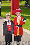 Kevin and Aaron Horan, Ballyheigue at the Kids Fancy Dress Easter Fun Run in Tralee Town Park on Saturday