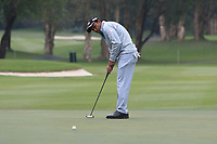 S.S.P. Chawrasia (IND) on the 3rd green during Round 3 of the UBS Hong Kong Open, at Hong Kong golf club, Fanling, Hong Kong. 25/11/2017<br /> Picture: Golffile | Thos Caffrey<br /> <br /> <br /> All photo usage must carry mandatory copyright credit     (&copy; Golffile | Thos Caffrey)