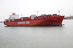 Rio Blanco, Hamburg Sud ship, Port of Rotterdam, Holland