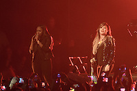 "SAO PAULO, SP, 22.04.2014. SHOW DEMI LOVATO. A cantora americana Demi Lovato durante show da turnê ""The Neon Lights"" na noite desta terça feira no Citybank Hall na zona sul da capital paulista. (Foto: Adriana Spaca/Brazil Photo Press)"