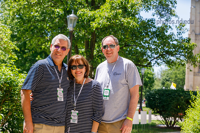 Reunion 2017 (Photo by Peter Ringenberg/University of Notre Dame)
