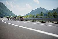 2013 Giro d'Italia.stage 11.Tarvisio - Vajont: 182km..peloton ..