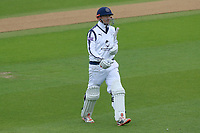 George Bailey of Hampshire leaves the field having been dismissed for 0 during Essex CCC vs Hampshire CCC, Specsavers County Championship Division 1 Cricket at The Cloudfm County Ground on 20th May 2017