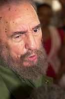 Cuban President Fidel Castro pictured on June 6, 2006.. Credit: Jorge Rey/MediaPunch