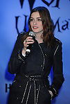 "HOLLYWOOD, CA. - February 19: Anne Hathaway attends the ""Alice In Wonderland"" Great Big Ultimate Fan Event at Hollywood & Highland Courtyard on February 19, 2010 in Hollywood, California."