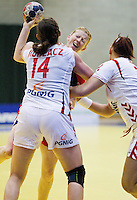 GBR v Poland Womens 2012 European Handball Championships Qualifier