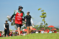 SINGAPORE - MARCH 03: Jodi Ewart Shadoff of England walking-up the 3rd during the final round of the HSBC Women's World Championship 2019 at Sentosa Golf Club - Tanjong Course, Singapore on March 03, 2019.<br /> .<br /> .<br /> .<br /> (Photo by: Naratip Golf Srisupab/SEALs Sports Images)<br /> .<br /> Any image use must include a mandatory credit line adjacent to the content which should read: Naratip Golf Srisupab/SEALs Sports Images