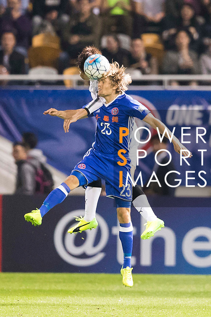 Jaimes McKee of Eastern SC (HKG) in action during the AFC Champions League 2017 Group G match between Eastern SC (HKG) and Kawasaki Frontale (JPN) at the Mongkok Stadium on 01 March 2017 in Hong Kong, China. Photo by Chris Wong / Power Sport Images