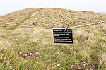 Bronze Age burial mounds Cursus Barrows, closed to the public for erosion control, Stonehenge, Wiltshire, England, UK