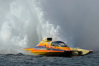 """Marty Wolfe, GP-93 """"Renegade""""  (Grand Prix Hydroplane(s)<br /> <br /> Régates de Valleyfield<br /> Salaberry Valleyfield, Québec Canada <br /> 10-12 July, 2015<br /> <br /> ©2015, Sam Chambers"""