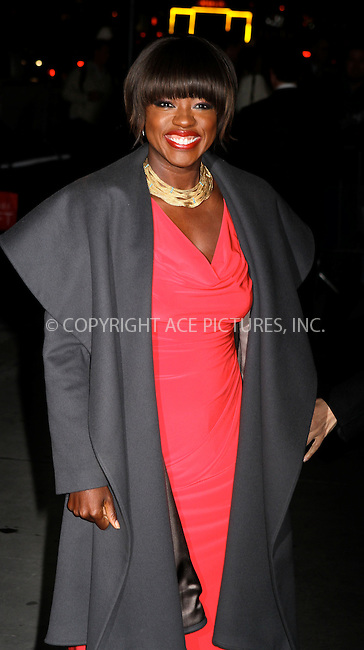 WWW.ACEPIXS.COM . . . . .  ....January 10 2012, New York City....Actress Viola Davis arriving at the 2011 National Board of Review Awards gala at Cipriani 42nd Street on January 10, 2012 in New York City.....Please byline: NANCY RIVERA- ACE PICTURES.... *** ***..Ace Pictures, Inc:  ..tel: (212) 243 8787 or (646) 769 0430..e-mail: info@acepixs.com..web: http://www.acepixs.com