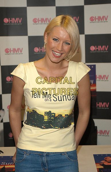 """DENISE VAN OUTEN.attends signing at HMV Music Store for the soundtrack  of """"Tell Me On A Sunday"""" Musical.www.capitalpictures.com.sales@capitalpictures.com.©Capital Pictures"""