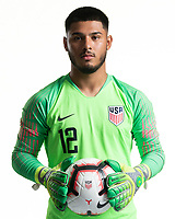Rome, GA - Friday, June 21, 2019:  Para 7 USMNT headshot of Marc Estrella.