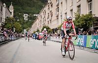Thomas De Gendt (BEL/Lotto Soudal) to sign-on<br /> <br /> Stage 6: Cassino to San Giovanni Rotondo (233km)<br /> 102nd Giro d'Italia 2019<br /> <br /> ©kramon